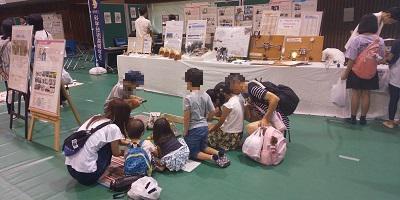 リモコンロボットの展示