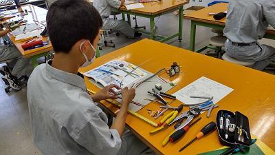 第二種電気工事士技能練習